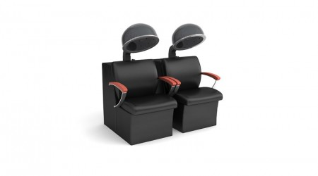 Double helmets chairs