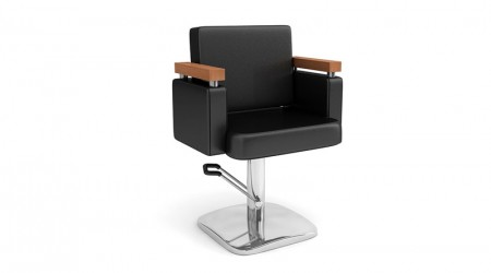 Square hairdresser chair