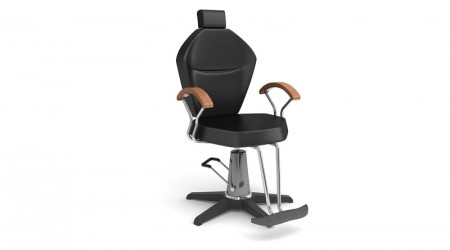 Black hairdresser chair