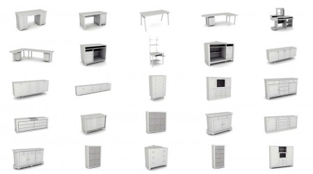 Pack furnitures 3d vol 5