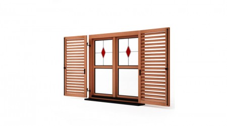 Louvers shutters