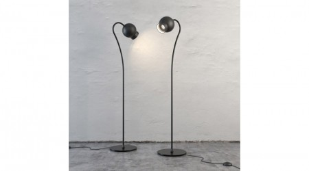 Two round lamps