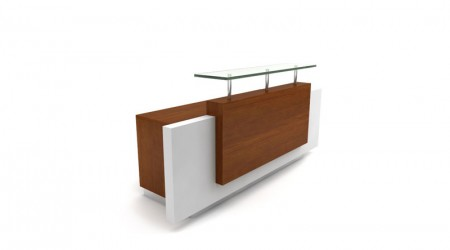 Reception desk modern design