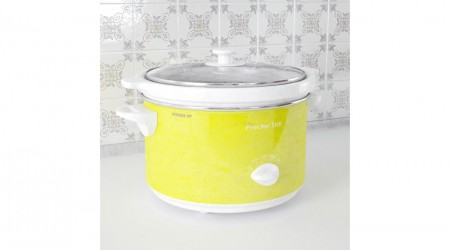 Retro yellow cooker