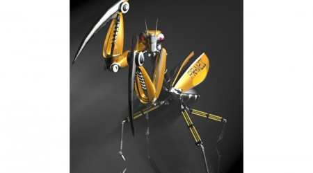Praying mantis robot
