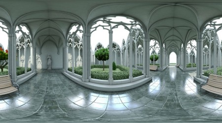 Vaults in HDRI inside