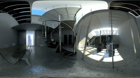HDRI hall office