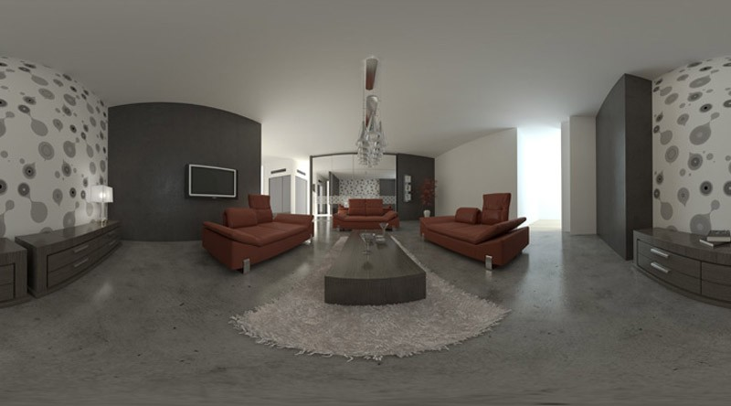 HDRI relaxation area