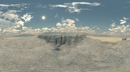 HDRI mountain