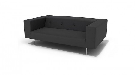 small black couch