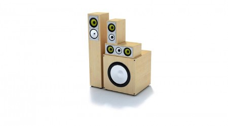 speakers stereo v8