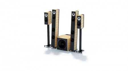 set of stereo speakers v3
