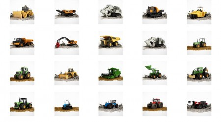 pack 3d vehicles vol 1