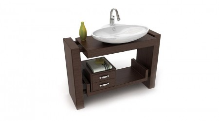 Washbasin cabinet wood