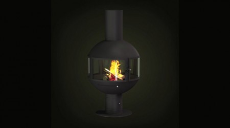 central wood stove