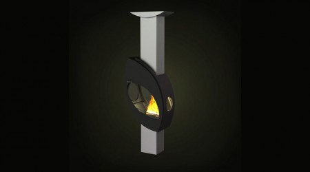 wood stove column