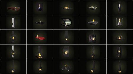 pack 3d fireplaces vol 1