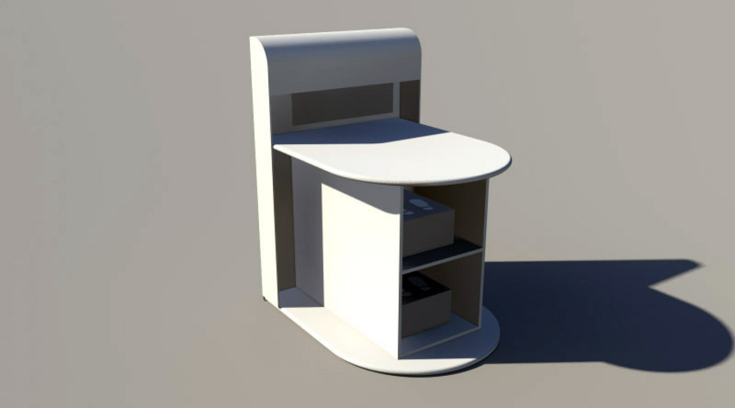 Meuble Rangement 3d Library Objets Mobiliers Jouets