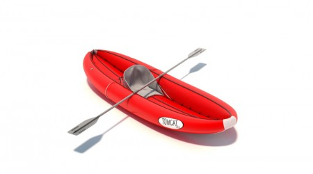 Boat inflatable canoe