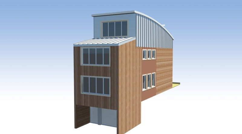 wooden house architect