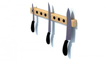 Magnetic knifes stand