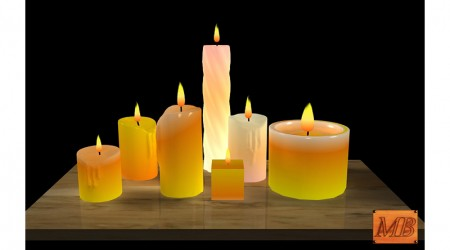 Various candles
