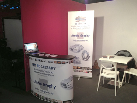 Photo stand salon laval virtual 2013