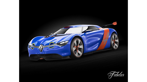 renault alpine a110 50 en 3d 3d library blog. Black Bedroom Furniture Sets. Home Design Ideas