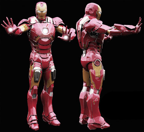 Iron-man-3d-library-object