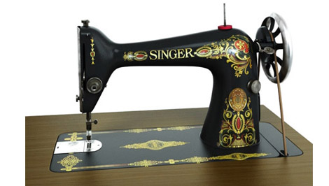 3d singer sewing machine 3d library blog3d library blog. Black Bedroom Furniture Sets. Home Design Ideas