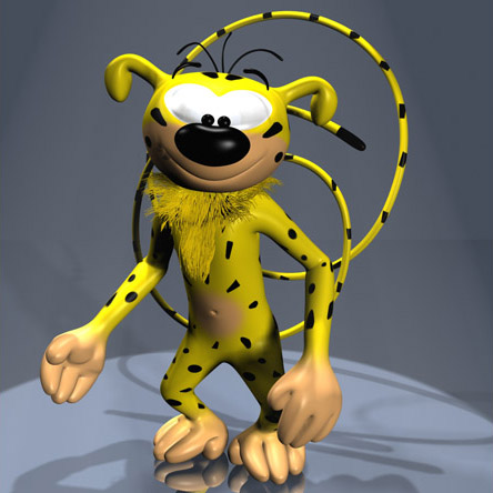 marsupilami cartoon cartoon 3d